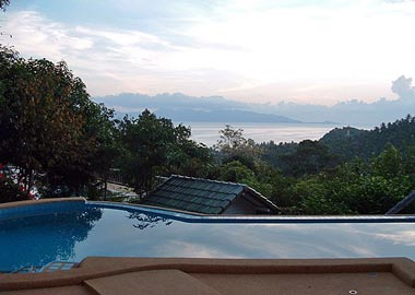 pool with a Samui view