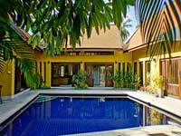 Palmview villa on Samui